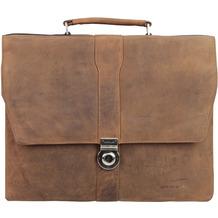 Harold's Antik / Antico Aktentasche mit Laptopfach 17,1 Zoll 5 natur
