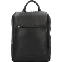Harold's Campo Rucksack Leder 40cm Laptopfach schwarz