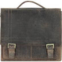 Harold's Concaro Aktentasche Leder 40 cm braun