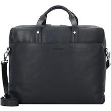 Harold's Heritage Businesstasche Leder 38 cm schwarz
