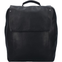 Harold's Ivy Rucksack Leder 38 cm Laptopfach schwarz