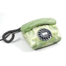 HDK Nostalgietelefon FeTAp 791, grün marmoriert