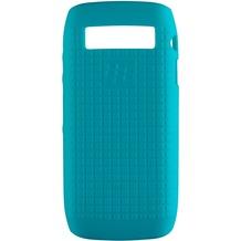Blackberry Embossed Skin Wonka für Pearl 3G, türkis