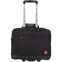 Hedgren Rotor 2-Rollen Businsstrolley 37 cm Laptopfach black