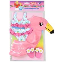 Heless Puppen-Schwimmset Flamingo Ella, Gr.35-45cm