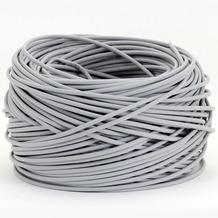 Helos CAT 5e Verlegekabel SFTP, 100 m Ring, grau