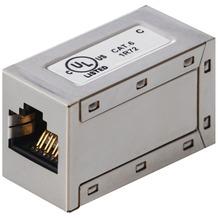 Helos CAT 6 Modularkupplung (RJ45 geschirmt)