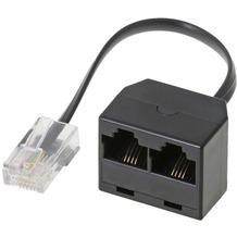 Helos ISDN-Zweifachadapter inkl. Abschlusswider-