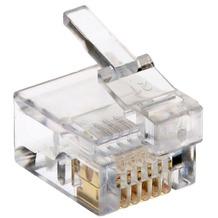 Helos Modularstecker DEC-6P6C (NTBA), 100 Stck