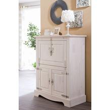 Henke Möbel Barschrank 97 x 120 x 45 cm weiß