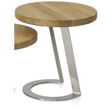 Henke Möbel Beistelltisch 50 x 50 cm - Höhe 50 cm