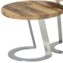 Henke Möbel Beistelltisch 50 x 50 cm - Höhe 40 cm