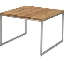 Henke Möbel Beistelltisch Ast-Eiche 70 x 70 cm