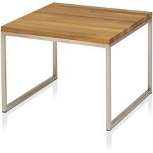 Henke Möbel Beistelltisch Kern-Altholz 60 x 60 cm