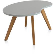 Henke Möbel Couchtisch Spitzfüße grau 110 x 62 cm