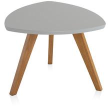 Henke Möbel Couchtisch Spitzfüße grau 60 x 60 cm