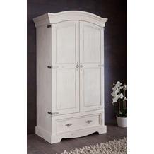 Henke Möbel Dielenschrank 110 x 202 x 62,5 cm weiß