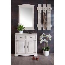 Henke Möbel Spiegel 62 x 106 x 4 cm weiß