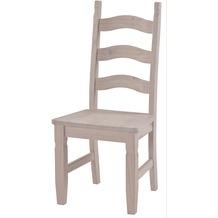 Henke Möbel Stuhl Mexican weiß