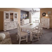 Henke Möbel Tisch 190 x 91 cm weiß