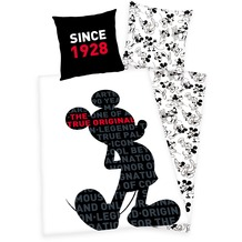Herding 90 Jahre Mickey Mouse Bettwäsche 80/80+135/200 cm