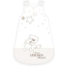 Herding Baby-Schlafsack Lieblingsmensch, 90x45 cm weiß