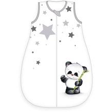 Herding Baby-Schlafsack Panda, 90x45 cm weiß