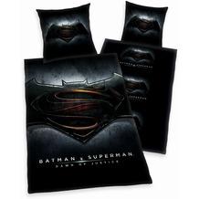 Herding Batman vs. Superman Bettwäsche Microfaser 80x80 + 135x200 cm