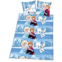 Herding Disney's Die Eiskönigin Renforcé Bettwäsche 135x200 cm blau