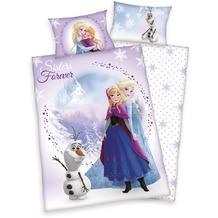Herding Renforcé Bettwäsche Disney's die Eiskönigin 40x60 cm + 100x135 cm
