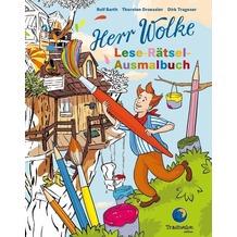 Herr Wolke Lese-Rätsel-Ausmalbuch