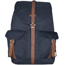 Herschel Dawson Backpack Rucksack 48 cm navy tan synthetic leather