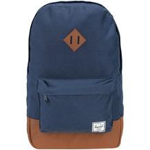 Herschel Heritage Backpack Rucksack 47 cm Laptopfach navy tan synthetic leather