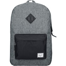 Herschel Heritage Backpack Rucksack 47 cm Laptopfach raven crosshatch black black leather