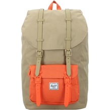 Herschel Little America Rucksack 52 cm Laptopfach kelp vermillion orange