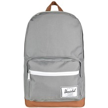 Herschel Pop Quiz Backpack Rucksack 45 cm Laptopfach grey tan synthetic leather