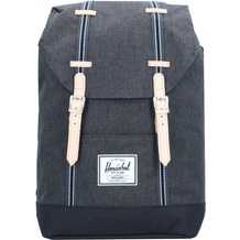 Herschel Retreat Rucksack 47 cm black crosshatch black