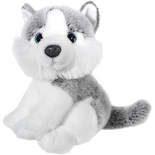 Heunec Mi Classico Husky, 21 cm grau/weiß