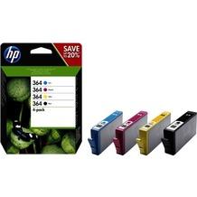 Hewlett-Packard HP 364 Tinten Combo 4-Pack CMYK