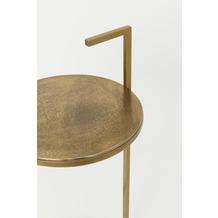 Holländer Beistelltisch ALLEGRIA Aluminium antikgold Eisen gold