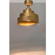 Holländer Deckenstrahler 1-flg. BANDEROLA Eisen gold