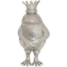 Holländer Frosch RANA Aluminium silber Pose 1