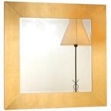 Holländer Spiegel CLASSICO Rahmen Holz MDF mit Blattgold - Spiegelglas