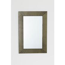 Holländer Spiegel PRAGA Glas auf Holz gold-schwarz Spiegelglas