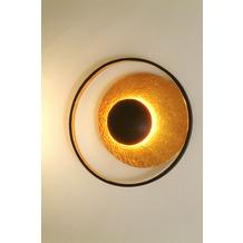 Holländer Wandleuchte 4-flg. SATELLITE Eisen braun-schwarz-gold