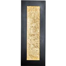 Holländer Wandleuchte DUPLICATO braun-schwarz-gold