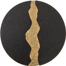 Holländer Wandleuchte LAVA Eisen braun-schwarz-gold