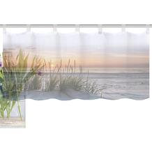 "Home Wohnideen Cafehaus Digitaldruck ""evening"" Natur 45 x 120 cm"