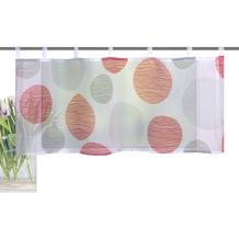 Home Wohnideen Cafehaus Voile Digitaldruck Borden Rot 45 x 120 cm