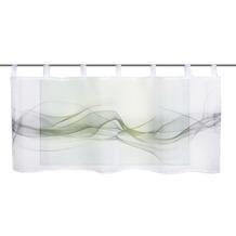 Home Wohnideen Cafehaus Voile Digitaldruck Haze Grau 45 x 120 cm